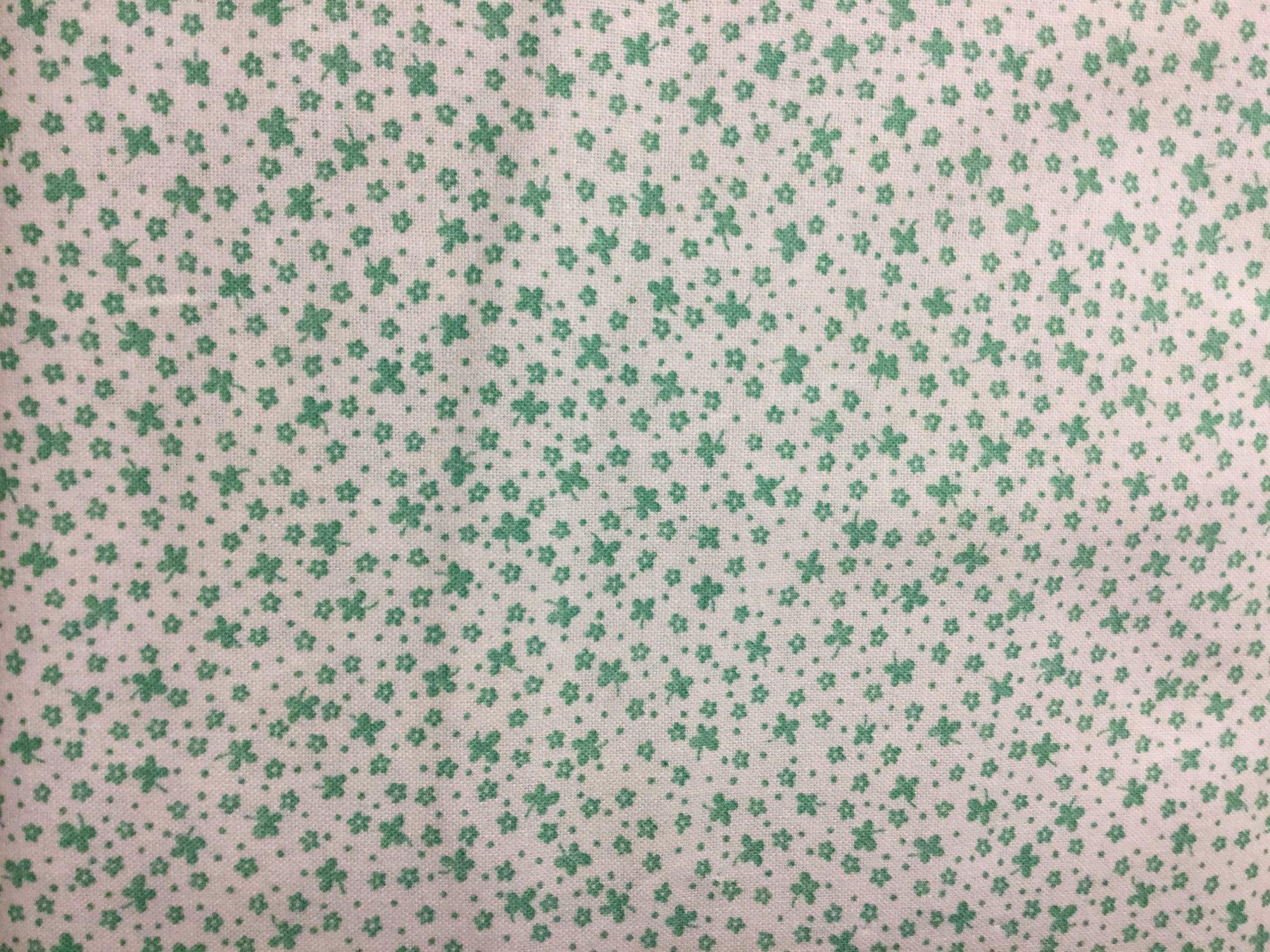 Green on cream 1970