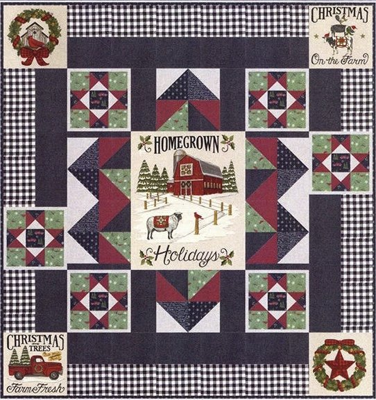 Christmas in the Pines (Homegrown Holidays) Quilt Kit