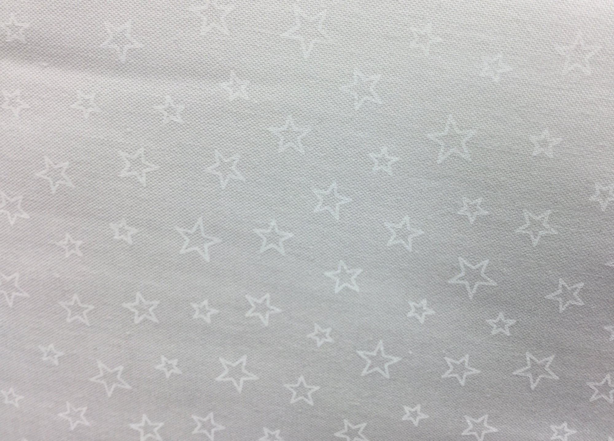 Quilting Illusions STARS WHITE/WHITE