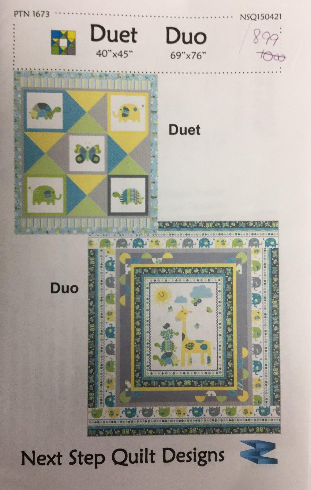 Duet & Duo Pattern PTN 1673