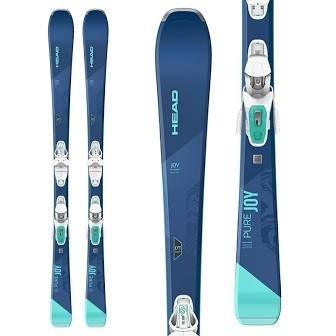 Head Pure Joy SLR Pro Ski + Tyrolia Joy 9 GW Binding Womens