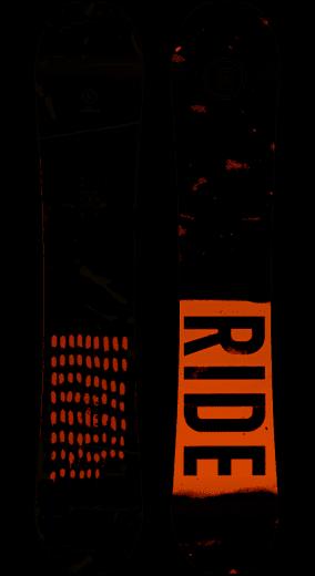 Ride Manic  Snowboard Wide Mens
