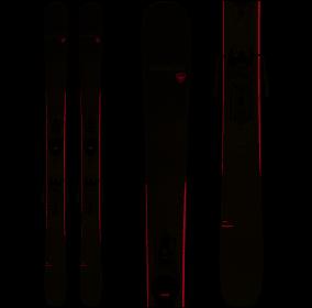 Rossignol Blackops Dreamer Ski + Xpress 10 Binding Womens