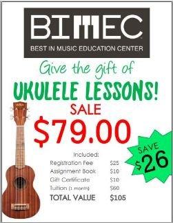 BIMEC Group Ukulele Lesson Pack
