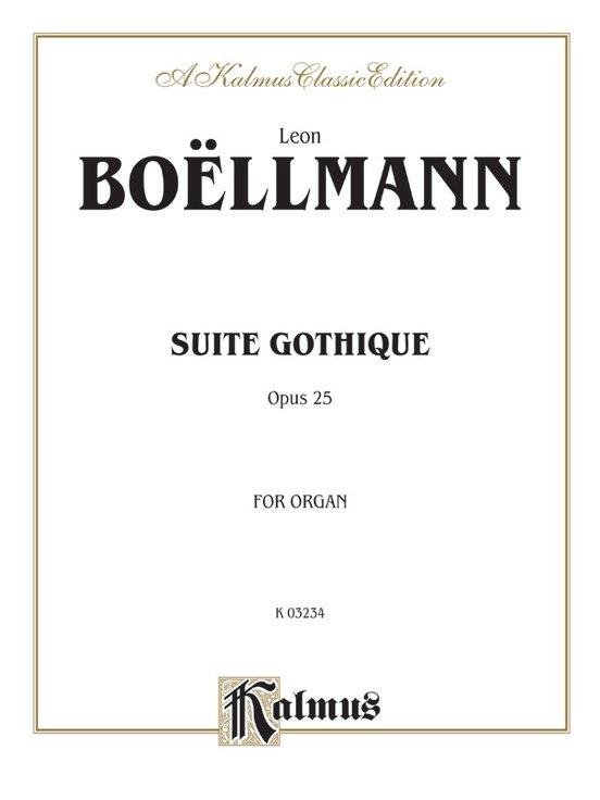 Boellmann Suite Gothique