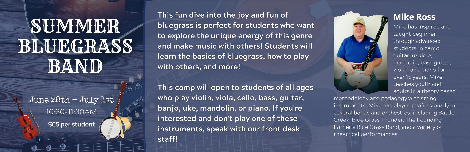 Summer Bluegrass Band