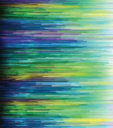 Moda Basic Digital Fragmented Stripe Light Blue
