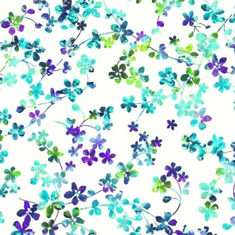 watercolor meadow 108 white