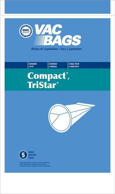 TriStar Paper Bag, and Compact Tank DVC 5 Pk