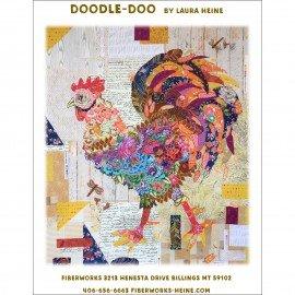 Doodle Doo Pattern by Laura Heine