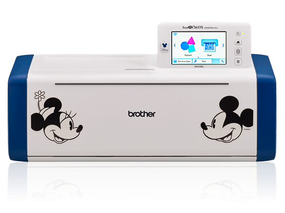 Brother Disney Limited-Edition Electronic Cutting Machine SDX230D