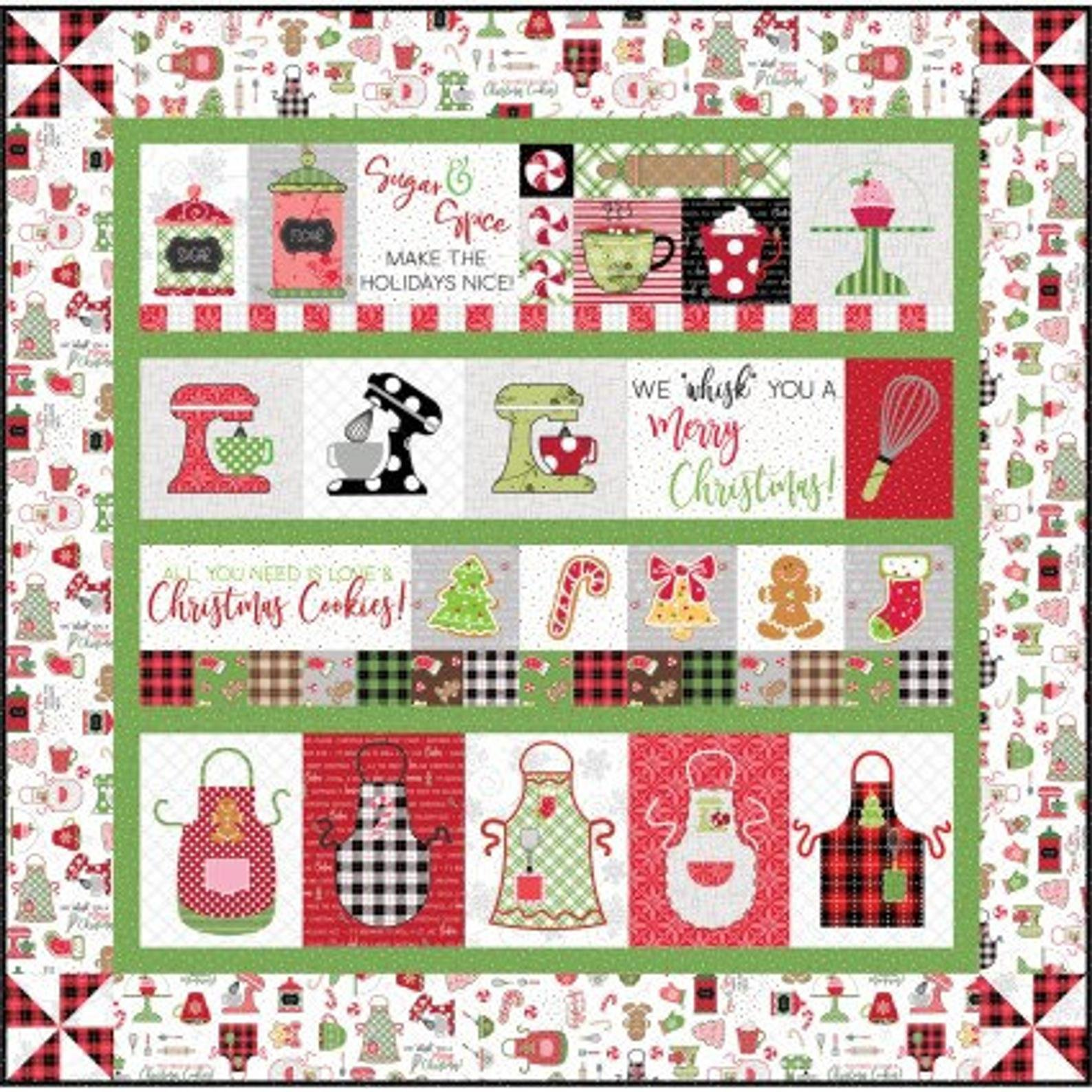 We Whisk You a Merry Christmas White Border