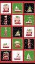 Double Decker Christmas - Panel