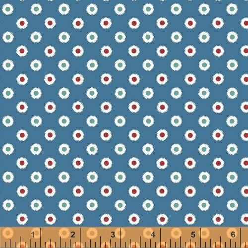 Hazel Dots Blue - Allison Harris for Windham