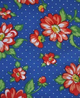 Allison Harris Dixie Floral Blue