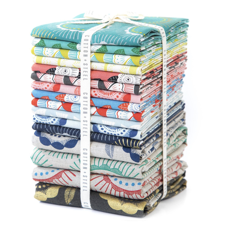 Cotton and Steel Kibori Fat Quarter Bundle 16 PC