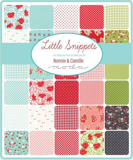 Bonnie and Camille Little Snippets Fat Quarter Bundle 40 PCS