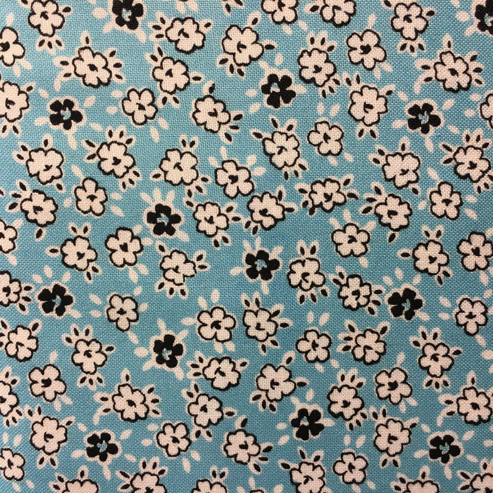 Play Date Floral Blue