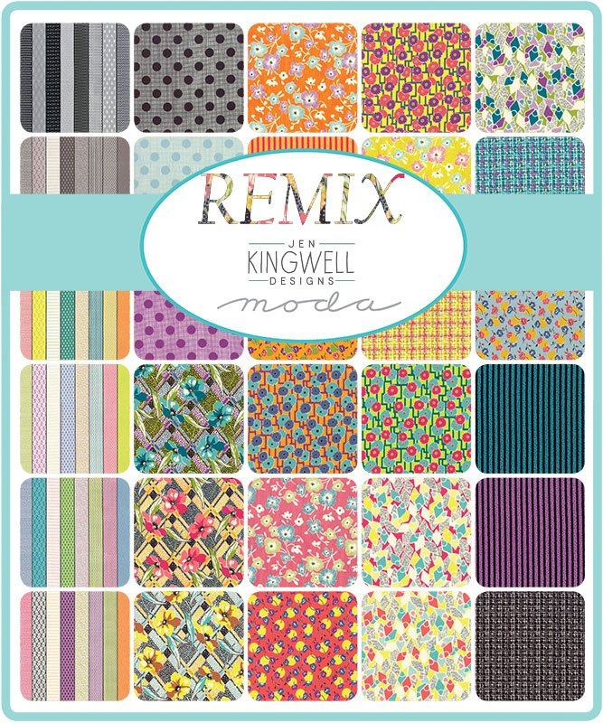 Jen Kingwell Remix Fat Quarter Bundle 32 PC