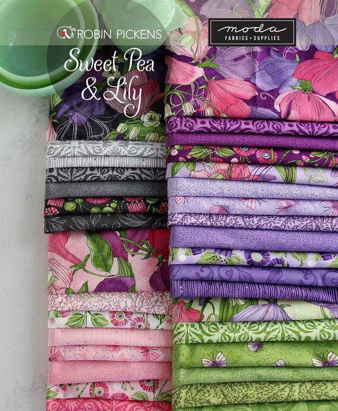 Sweet Pea Lily Fat Quarter Bundle 33 PC