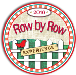 row by row round logo
