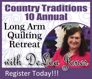 long arm quilting retreat