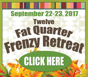 Fall Fat Quarter Frenzy Retreat