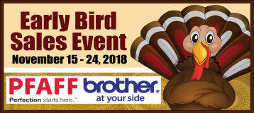 Early Bird Sales Event