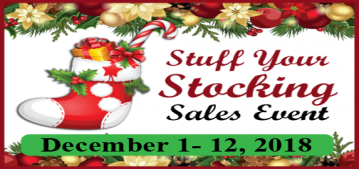 Stuff Your Stocking Sales Event