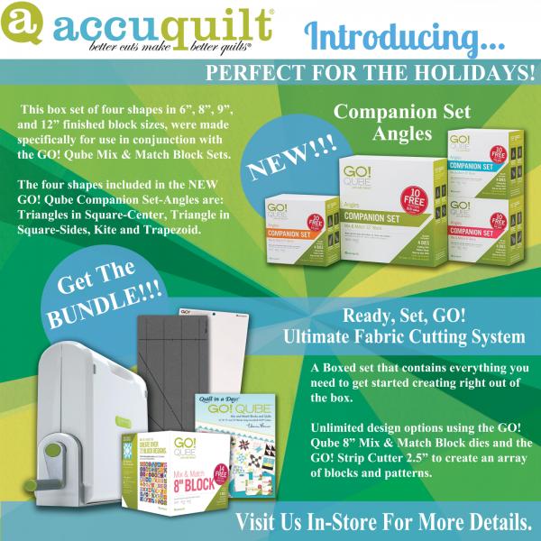 Accuquilt Promo