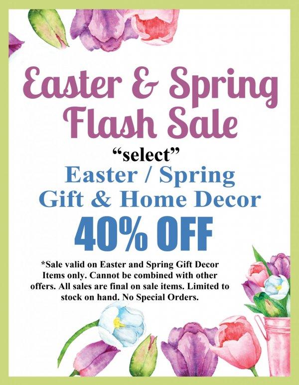 Easter Spring Flash Sale