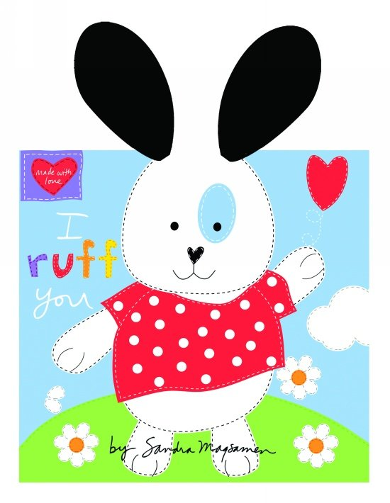 Huggable and Loveable Books White 3358P-01