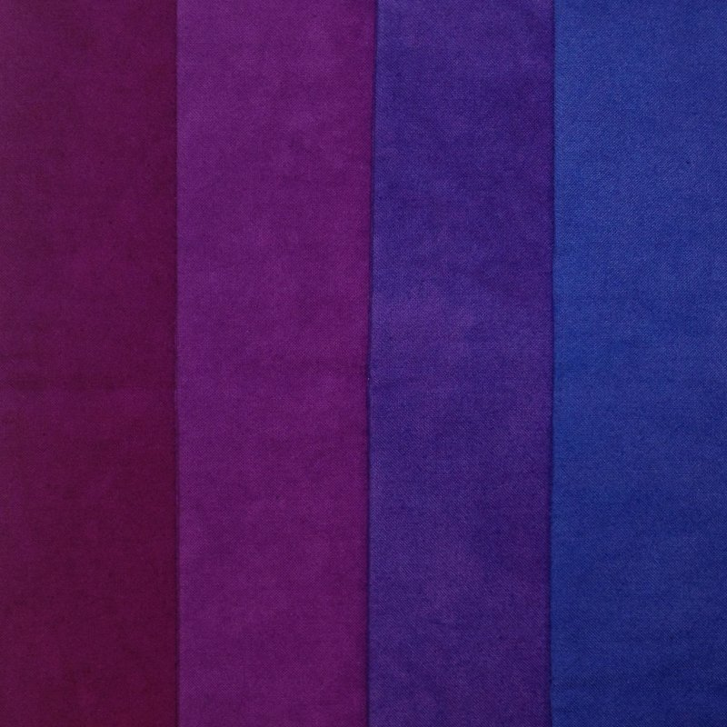 Cherrywood Violet Medley 4 Fat Quarters Bundle Fabrics