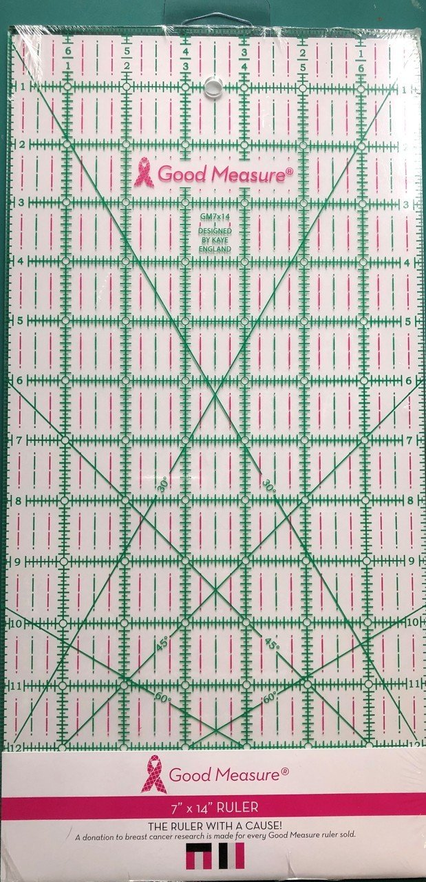 Good Measure 7 in X 14 in Ruler