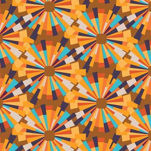 Aura AUR-54907 Leis Burst Pineapple by Mister Domestict for AGF Angles a Division of Art Gallery Fabri