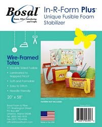 Bosal In R Form Fusible foam for  Wired-Framed Totes 20x58 BOS439D