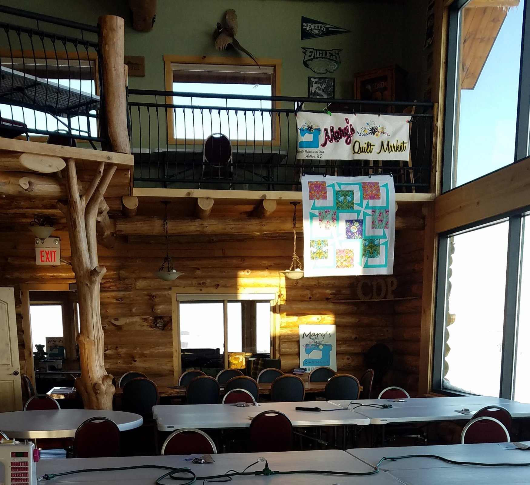 Quilting at the Lodge Down Payment Registration fee