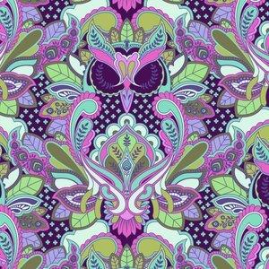 All Stars Owl Petunia PWTP117-PETUN Tula Pink
