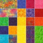 Tonga Batik 5in Squares Rio 40pcs/pack
