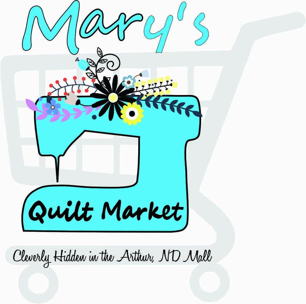Baseball Style shirt Mary's Quilt Market