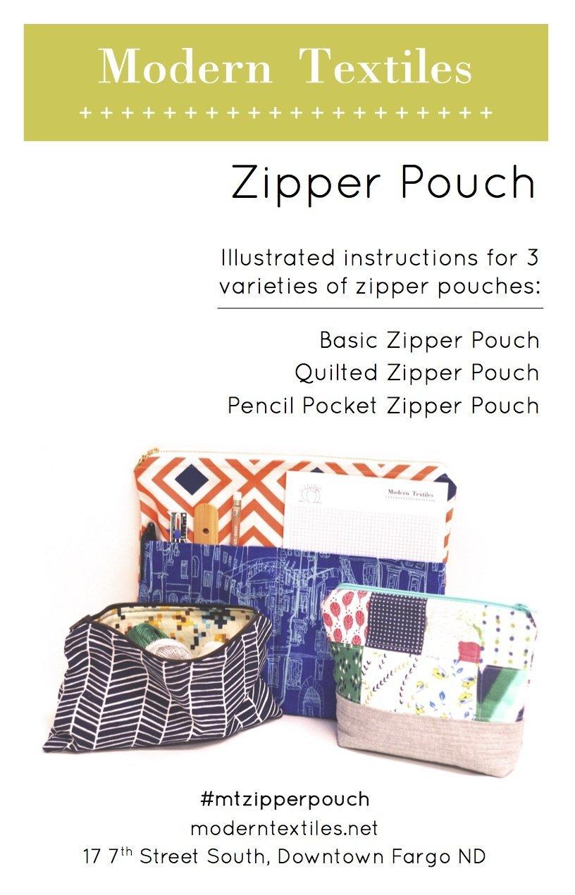 Modern Textiles Zipper Pouch Pattern