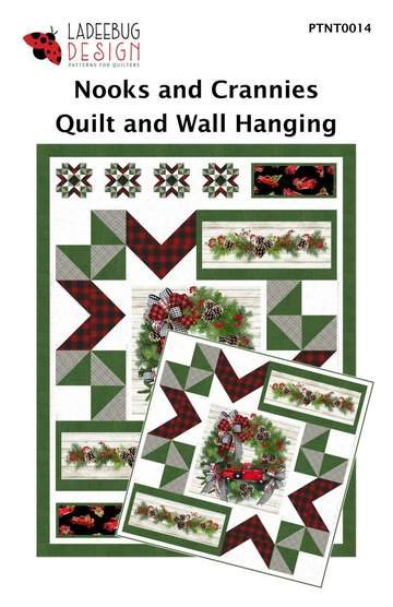 Ladeebug Design Nooks and Crannies Quilt and Wall Hanging Patterns