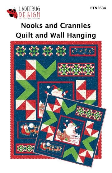 Ladeebug Design Nooks and Crannies Quilt and Wall Hanging Pattern
