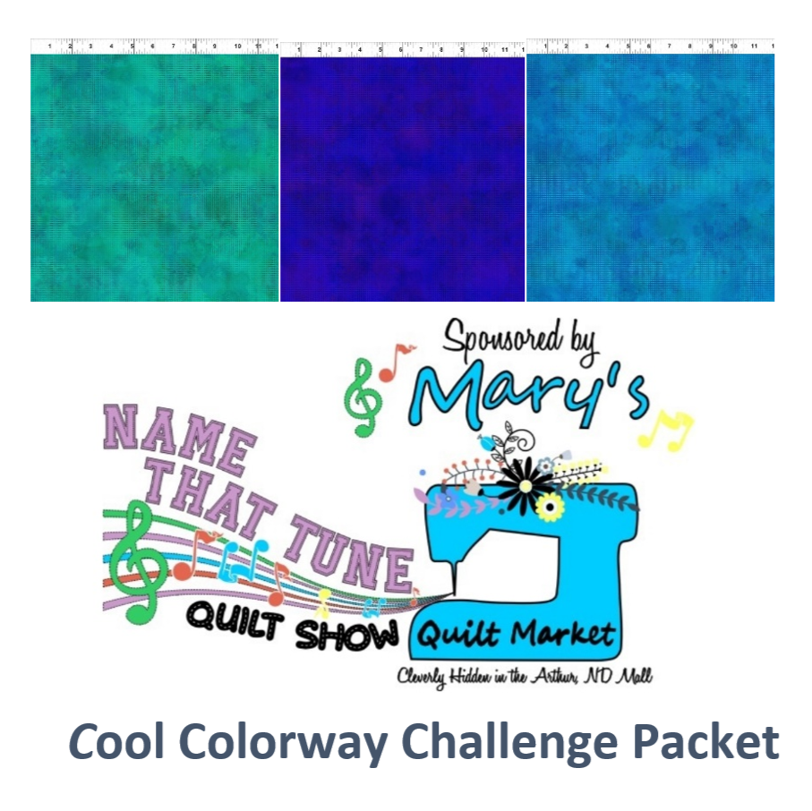 Name That Tune Quilt Challenge Packet-Cool