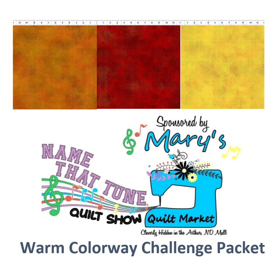 Name That Tune Quilt Challenge Packet-Warm