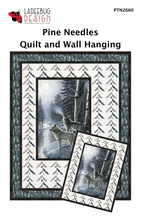 Ladeebug Design  All Dressed Up Quilt Pattern 45 x 59