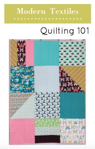Modern Textiles Quilting 101 Pattern