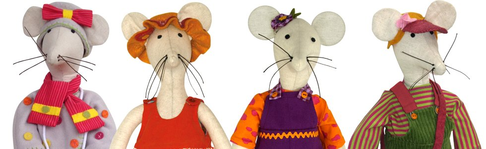 Hortense the Mouse and her Undies Doll Pattern 14 Days a Week