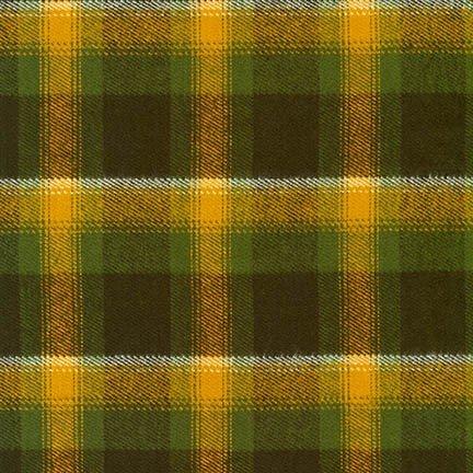 Durango Flannel Mustard Bison