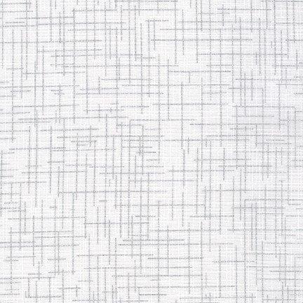 Quilter's Linen  Metallic Blanc